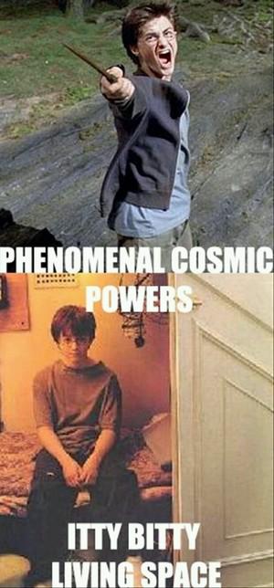 Harry Potter a la Robin Williams