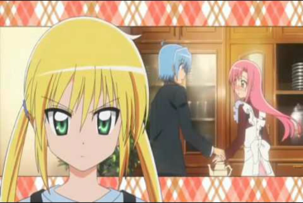 Hayate the combat butler kiss episode : Star wars episode 1 the