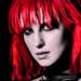 Hayley as Crimson Curse - paramore icon
