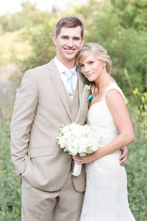 Heather Morris and Taylor Hubbell Wedding