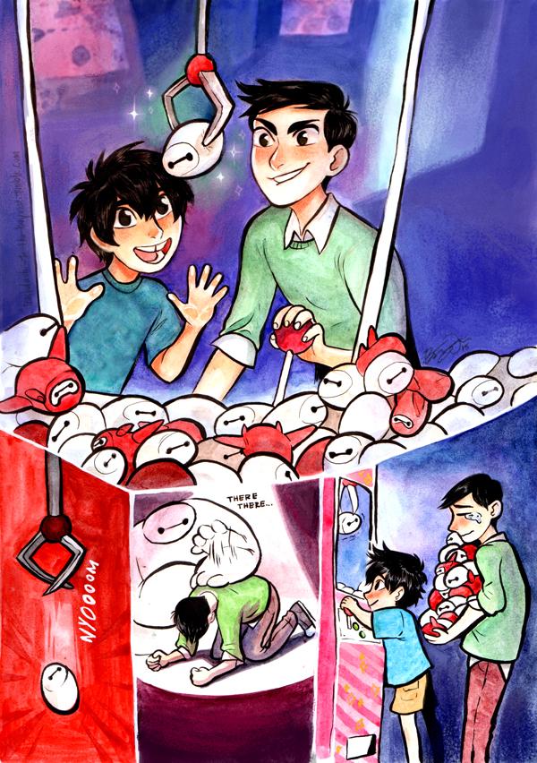 Hiro and tadashi big hero 6 fan art 38466532 fanpop