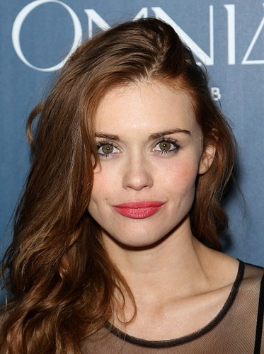 Holland Roden wallpaper containing a portrait called Holland attends Omnia Nightclub At Caesars Palace Grand Opening Weekend
