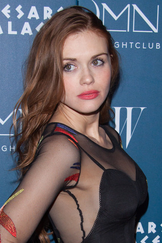 Holland Roden wallpaper probably with a portrait entitled Holland attends Omnia Nightclub At Caesars Palace Grand Opening Weekend