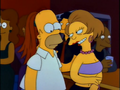 Homer and Edna - the-simpsons photo