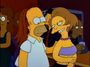 Homer and Edna