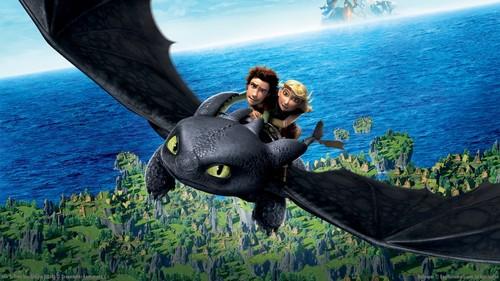 dessins animés fond d'écran entitled How to Train your Dragon fond d'écran