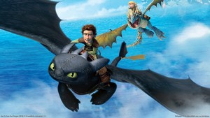How to Train your Dragon kertas dinding