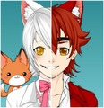 Human Foxy/Mangle (made sa pamamagitan ng me)