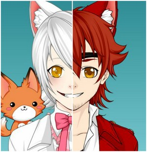 Human Foxy/Mangle (made sejak me)