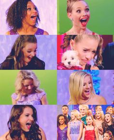 The Girls Of Dance Moms wallpaper containing a portrait called I <3 dance moms