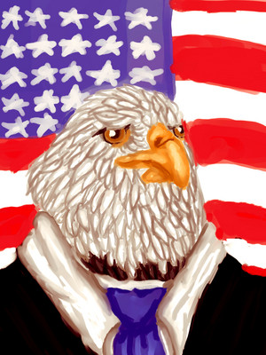 I am eagle president!