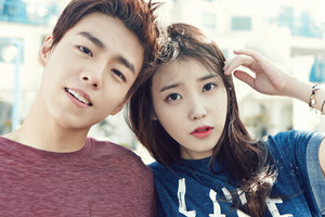 IU and Lee Hyun Woo for Unionbay S/S 2015