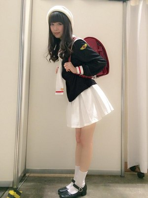 Ichikawa Miori cosplaying Cardcaptor Sakura Tomoyo
