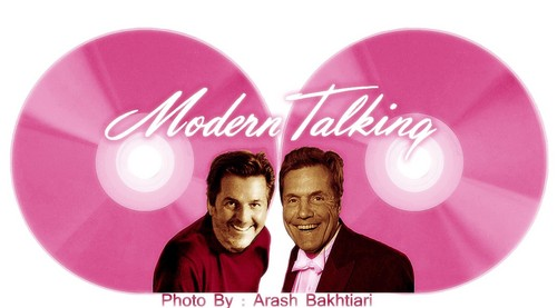 Modern Talking Hintergrund entitled Iranian Fans