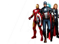 Iron Man, Cap and Thor