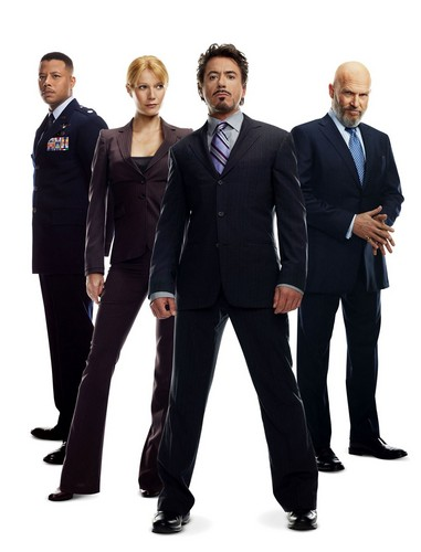 Iron Man wallpaper containing a business suit, a suit, and a well dressed person titled Iron Man Cast.