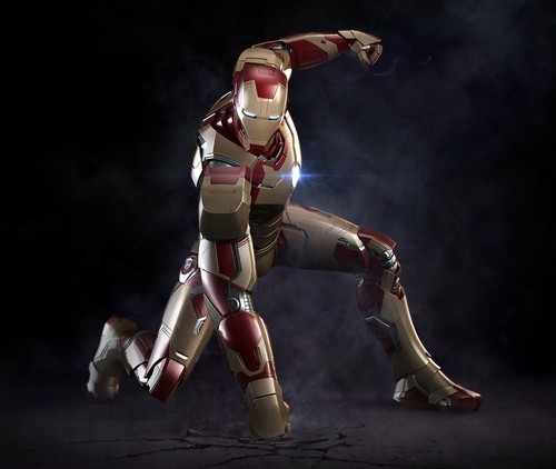 Iron Man پیپر وال entitled Iron Man Mark XLII Suit