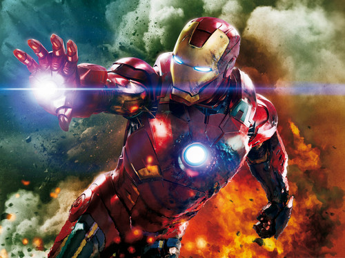 Iron Man wallpaper titled Iron Man in Marvel's Avengers (Mark VII suit)