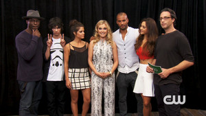 Isaiah, Devon, Marie, Eliza, Ricky, Lindsey and Jason at SDCC 2014