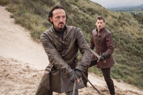Jaime Lannister fondo de pantalla entitled Jaime Lannister and Bronn
