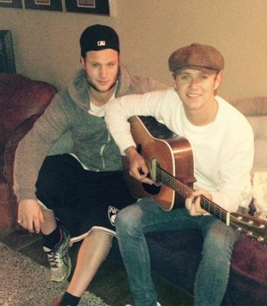 Jamie and Niall