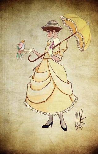 Le eroine dei cartoni animate della nostra infanzia wallpaper entitled Jane