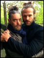 Jared Padalecki and Timothy Omundson