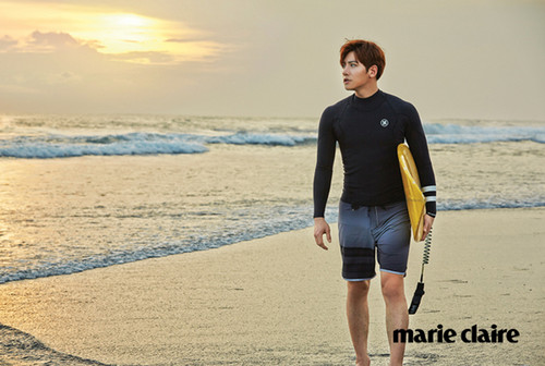 Ji Chang Wook Обои titled Ji Chang Wook For Marie Claire Korea