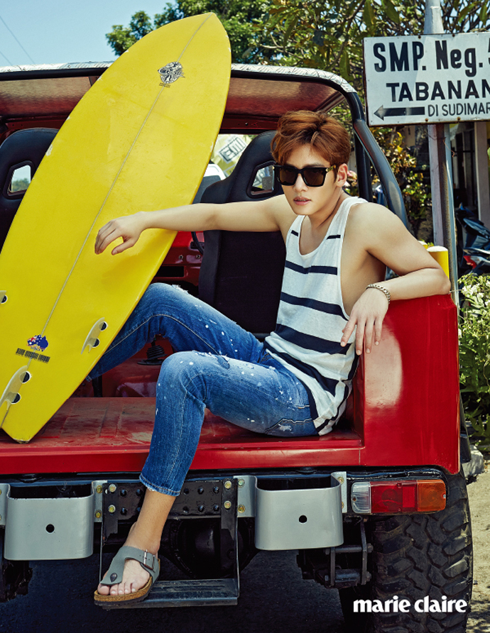 Ji Chang Wook For Marie Claire Korea