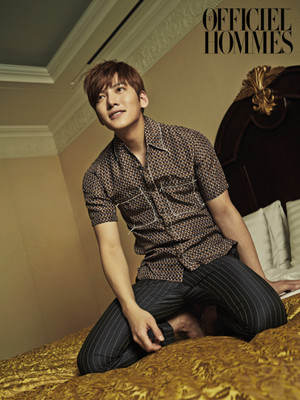 Ji Chang Wook's May Cover Spread For L'Officiel Hommes