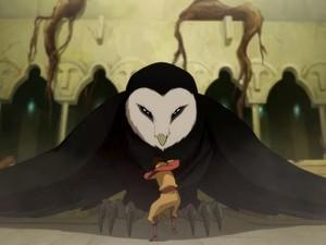 Jinora meets Wan shi tong