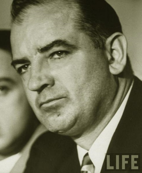 a biography of joseph raymond mccarthy Sen joseph mccarthy gives a speech claiming to have a list of 205 communists working in the state department later that year a senate committee begins hearings to look into the mccarthy accusation took advantage of the country's fear for communism .