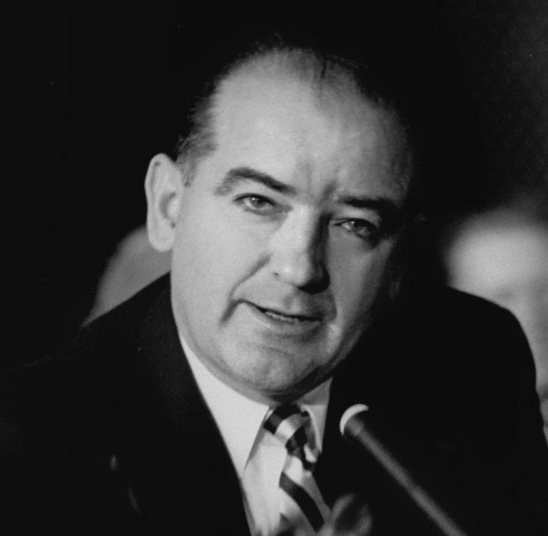 """Joseph Raymond """"Joe"""" McCarthy (November 14, 1908 – May 2, 1957)"""