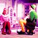 Jovie, Buddy and Papa Elf