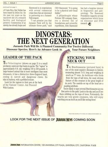 Parque Jurásico fondo de pantalla called Jurassic News