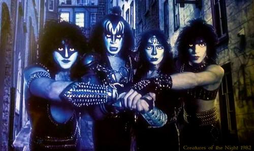 폴 스탠리 바탕화면 entitled 키스 ~Creatures of the Night 1982