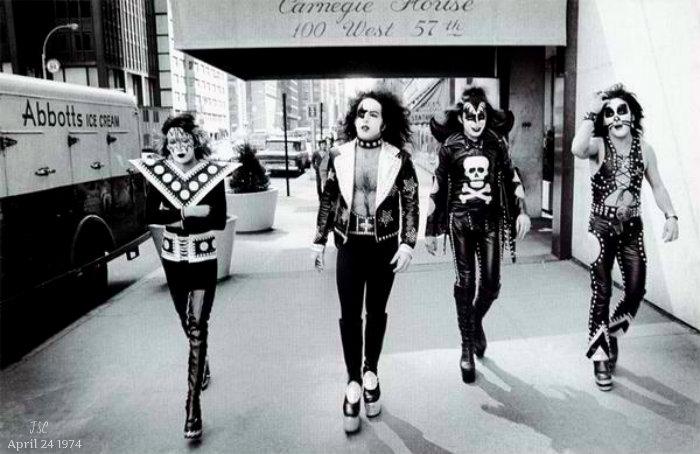 KISS ~New York City ~April 24, 1974