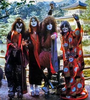 baciare (Spirit Temple) Kyoto, Japan…March 27, 1977