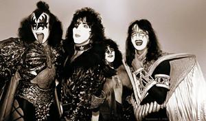 KISS ~Stafford, England…September 5, 1980