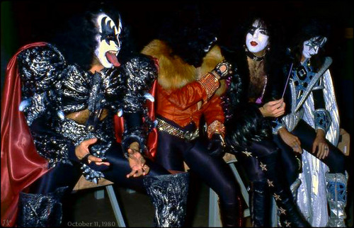 kiss fondo de pantalla probably with a hip boot and a sobreveste, sobretodo, cota de entitled kiss ~Unmasked Tour…Copenhagen, Denmark ~October 11, 1980