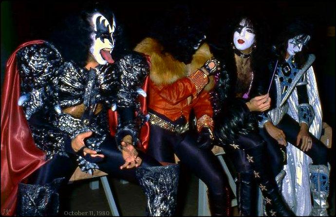 Kiss ~Unmasked Tour…Copenhagen, Denmark ~October 11, 1980