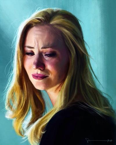 Daredevil (Netflix) 壁紙 containing a portrait called Karen Page