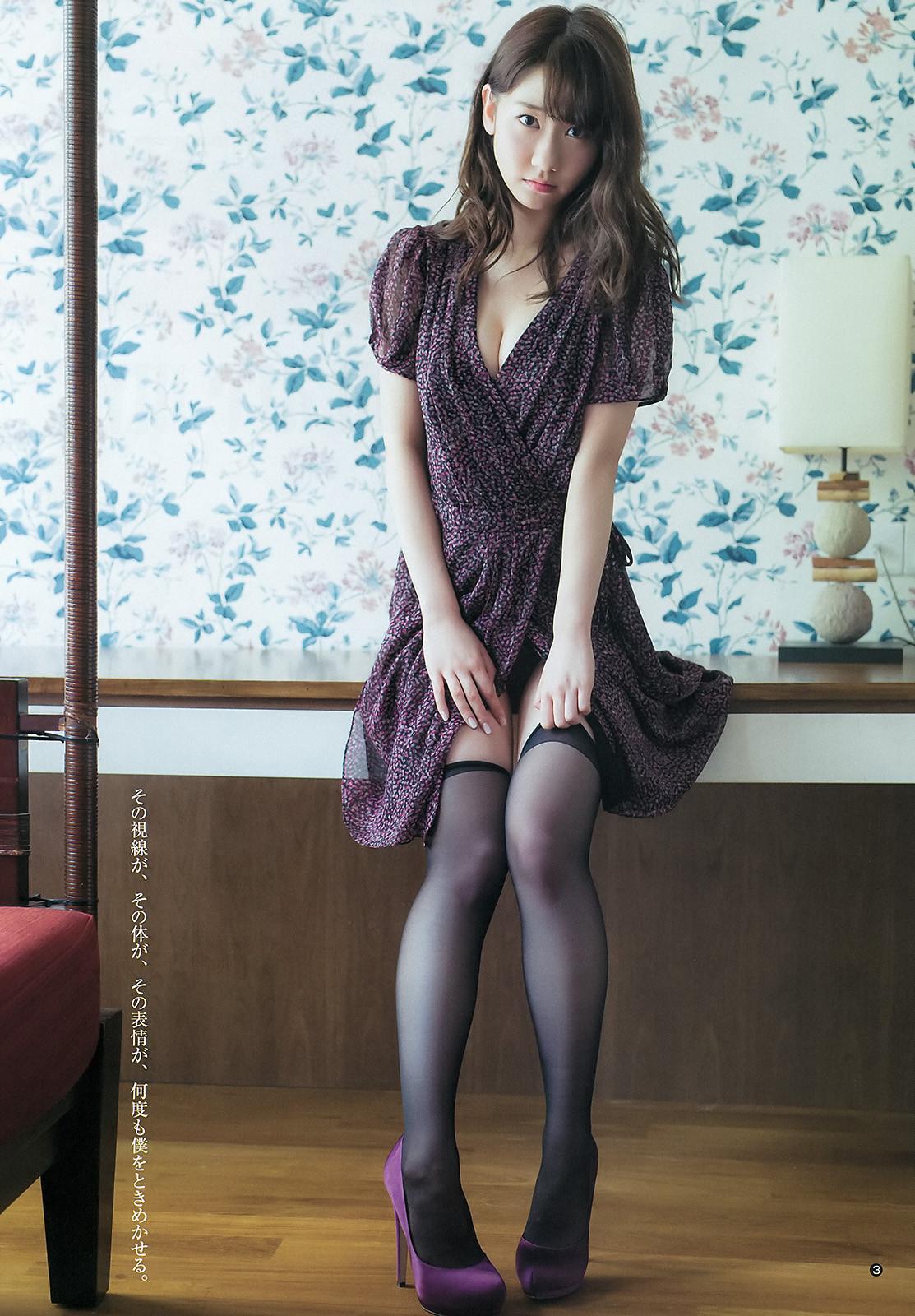 Kashiwagi Yuki 「Weekly Young Jump」 No.21 22 2015