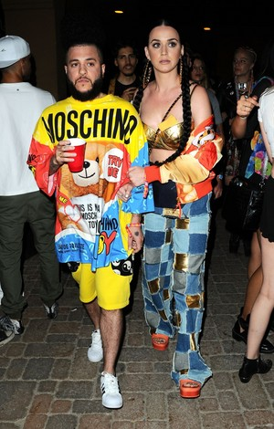 Katy Perry at Jeremy Scott and Moschino's party