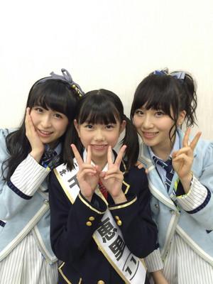Kawamoto Saya, Takahashi Juri, and Chiba Erii