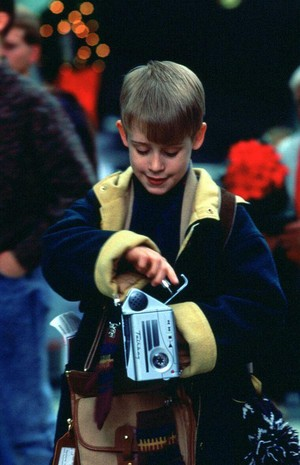 Kevin with his Talkboy