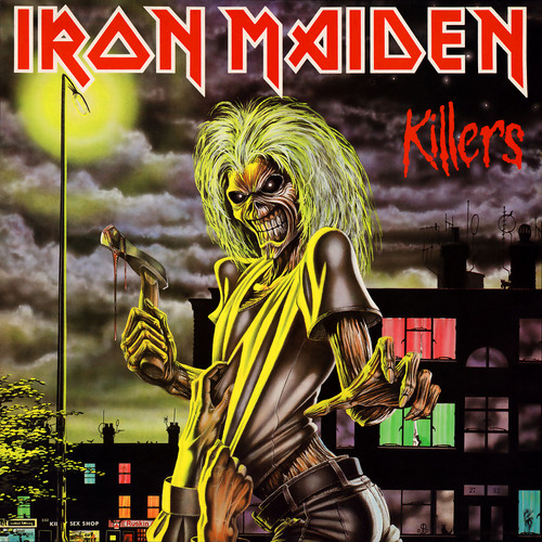Iron Maiden پیپر وال containing عملی حکمت titled Killers
