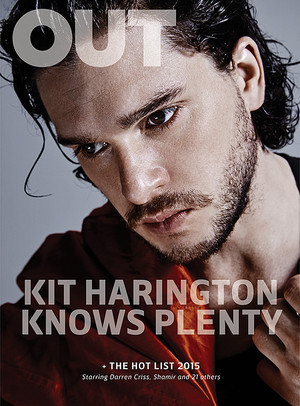 Kit Harington on Out Magazine