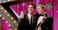 Klaine in prom queen