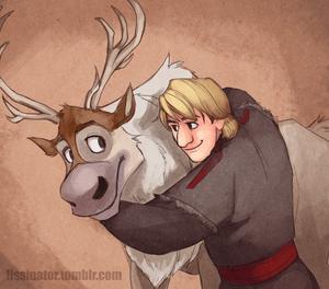 Kristoff and Sven